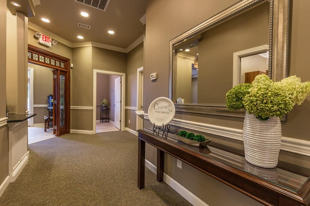 Inside the dental office - Connor Family Dentistry in Hendersonville